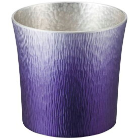 大阪錫器:錫製タンブラー 310ml (紫(SHINRA)) 24-2-1PR