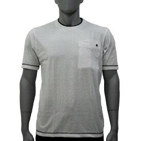 アグロワークス:配色アンチドロップTシャツ ホワイト 4L 7212016