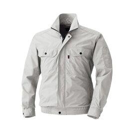 アグロワークス:空冷服 長袖ブルゾン シルバーグレー LL KM99200