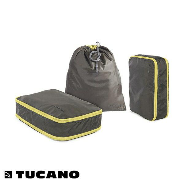 Tucano(ツカーノ):PIEGO トラベルセット (3P SET)パッキングケース Gray BPI-SET-CA