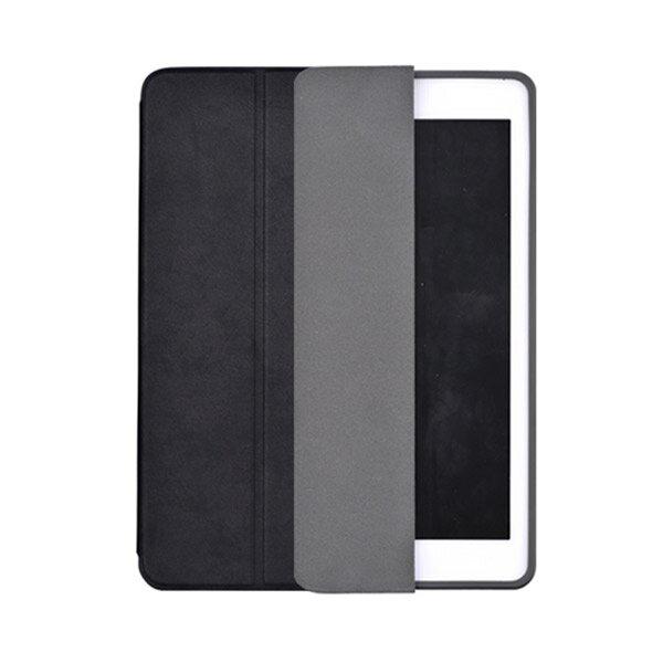 Comma(コマ):アップルペンシルとセットにできる!レザーiPadケース / Leather Case for iPad 9.7(2018) Black BLCMAC0004-BK