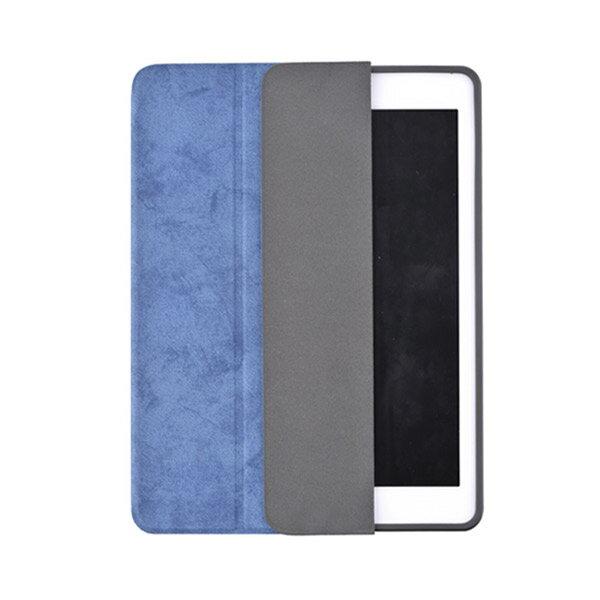 Comma(コマ):アップルペンシルとセットにできる!レザーiPadケース / Leather Case for iPad 9.7(2018) Blue BLCMAC0004-BL