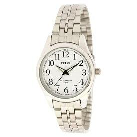 539815b469 クレファー:見やすい腕時計アナログレディース TE-AL025-WTS
