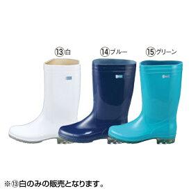 アキレス:長靴 タフテックホワイト62 透明底 白 23.5cm 8583800