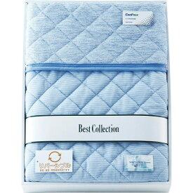 杉本産商:涼感&吸水速乾リバーシブル敷パット ブルー CP-6051