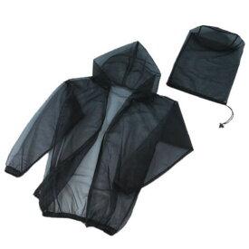 富士パックス販売:風通る虫よけメッシュパーカーヘッドカバー付き