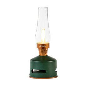 MoriMori:LED Lantern Speaker ORIGINAL GREEN カラー:ダークグリーン FLS-1701-DG おしゃれ キャンプ アウトドア 防災 災害