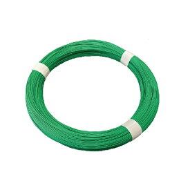 フジテック・ジャパン:カラー針金グリーン 10m巻 14X10m 19886