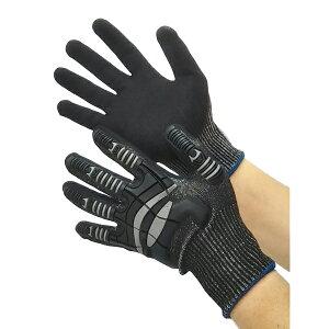 富士手袋工業:ナックルアーマー C4 黒 Mサイズ 9900
