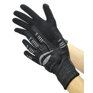 富士手袋工業:ナックルアーマー C4 黒 Lサイズ 9900