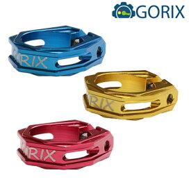 GORIX(ゴリックス):GX-12NC 軽量 アルミシートクランプ (31.8mm)レッド gx-12nc-31.8-rd
