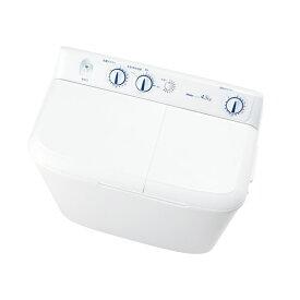 【100円OFFクーポン配布中】 ハイアール:二槽式洗濯機 4.5kg ホワイト JW-W45E-W