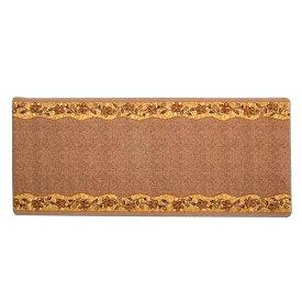 イケヒコ・コーポレーション:廊下敷き ナイロン100% 『リーガ』 ベージュ 約80×540cm 滑りにくい加工 2006250