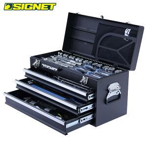 SIGNET(シグネット):12.7SQ 45PCツールセット マットブラック 800S-4518MBK