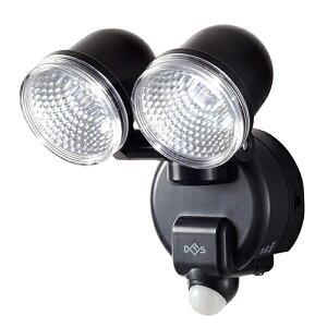 大進:乾電池式センサーライト 2灯式 DLB-2T100