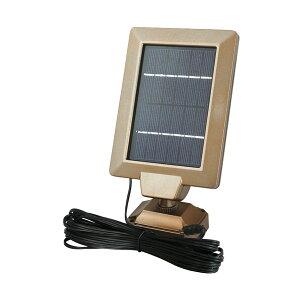 大進:広角ソーラーセンサーライト 電球色 DLS-1T600L