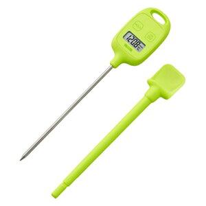 タニタ:デジタル温度計 グリーン TT583GR
