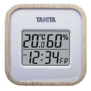 タニタ:デジタル温度計 木目調 ナチュラル 料理 調理器具 おしゃれ お洒落 TT571NA