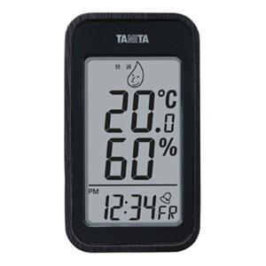 タニタ:デジタル温度計 木目調 ブラック 料理 調理器具 おしゃれ お洒落 TT572BK