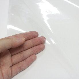 明和グラビア:日本製 透明シート 100cm幅×5m巻×0.2mm厚 防炎 抗ウイルス 抗菌 透明 シールド材 コロナ 飛沫防止シート 間仕切り VBT-5