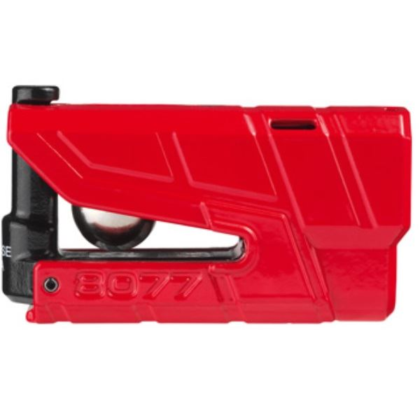 【後払い不可】ABUS(アブス):Granit Detecto X-Plus 8077 ( RED ) 8077
