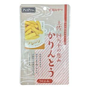 ペットプロジャパン:ペットプロ 土佐・四万十の恵み かりんとう プレーン 40g 犬 おやつ 間食 米 小麦 無添加 国産