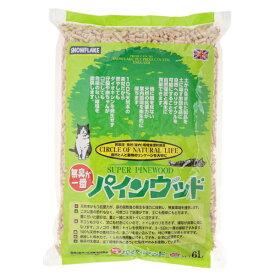 アイランドトレードエンドインダストリーズ:パインウッド 6L 猫 砂 猫砂 トイレ トイレタリー 木 木製