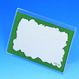 シモジマ:アクリルカード立て C 50個 007303200