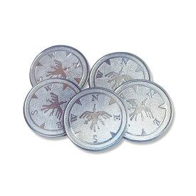 シモジマ:カプセル自販機 プチコロ 専用コイン 1袋(100枚入) 005993098