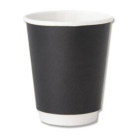 HEIKO(ヘイコー):二重断熱カップ 8オンス(240ml) ブラック 25個入り 004537004