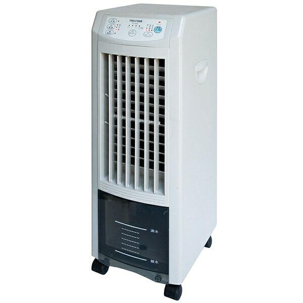 あす楽 TEKNOS(テクノス):抗菌加工 取り外せる 3.8Lタンク リモコン付 除菌・消臭テクノイオン 冷風扇 ホワイト TCI-007