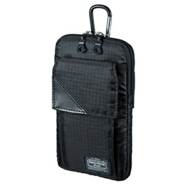 サンワサプライ:スキミング防止ポケット付きマルチガジェットケース(L) PDA-MGSG3BK