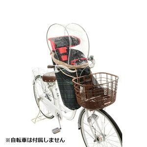 OGK(オージーケー):自転車フロントチャイルドシートFBCシリーズ用ソフトレインカバー チェック 自転車 子供乗せ 雨除け 風除け 前用 RCF-003