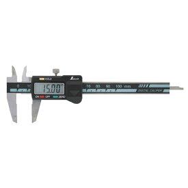 シンワ測定:デジタルノギス ミニ 100mm ホールド機能付 19974