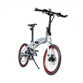 東部:メルセデス・ベンツ 20型折りたたみ自転車 20段変速 シルバー MB-20FD-EX20