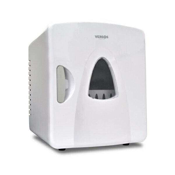 ベルソス:8L冷温庫 ホワイト VS-407