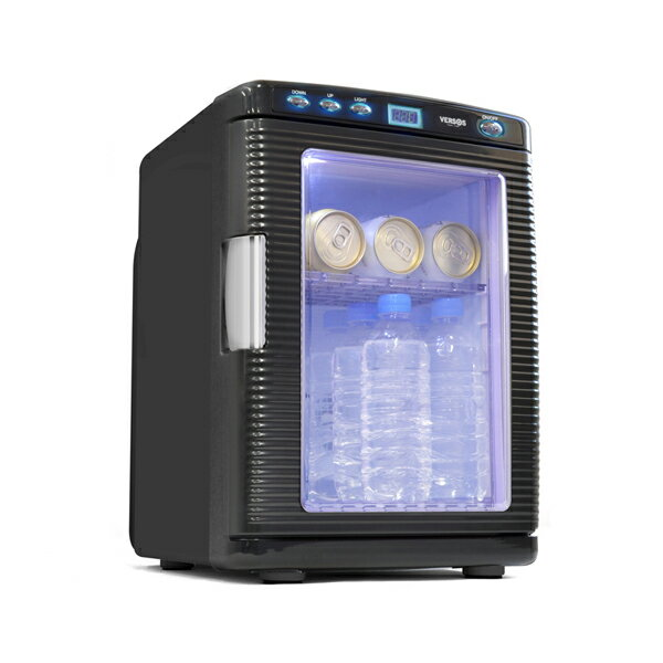 ベルソス:20L冷温庫 ブラック VS-430BK