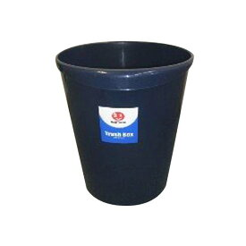 JOINTEX(ジョインテックス):持ち手付きゴミ箱丸型8.1L ブルー N151J-B 830380