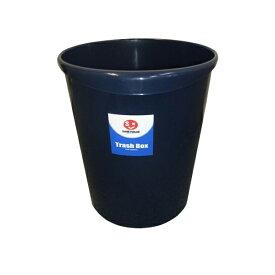 JOINTEX(ジョインテックス):持ち手付きゴミ箱丸型11.8Lブルー N152J-B5 831185