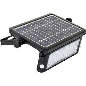 日動工業:ソーラーLEDセンサーライト エコフラッシュ10W SOL-10PIR-60K MWS20LY