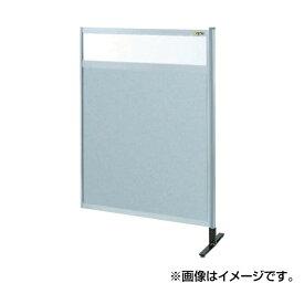 SAKAE(サカエ):パーティション 透明塩ビ(上) アルミ板(下)タイプ(連結) NAE-54NR