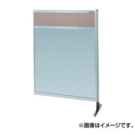 【代引不可】SAKAE(サカエ):パーティション 透明カラー塩ビ(上) アルミ板(下)タイプ(連結) NAK-54NR