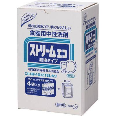 Kao ストリームエコ 750mlX4袋入り(1箱) 505798 4005091