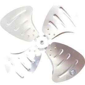 TRUSCO 全閉式工場扇ルフトハーフェン用アルミハネ(1枚) TFLH4510A 4896718