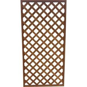 IRIS ラティス ブラウン 900×1800mm(1枚) W918 4378610 ガーデニング 園芸 柵 フェンス 建築資材