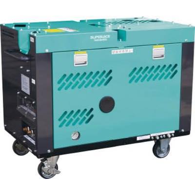 【代引不可】スーパー工業 ディーゼルエンジン式高圧洗浄機SEL-1325V2(防音温水型) SEL1325V2 7879016