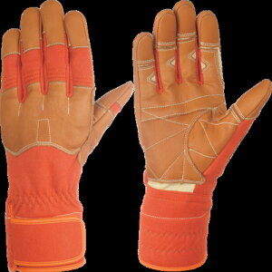 シモン 災害活動用保護手袋(アラミド繊維手袋) KG-160オレンジ KG160L 8370882