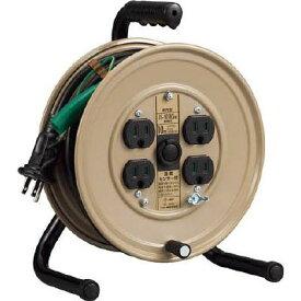 ハタヤ 温度センサー付コードリール単相100V10M アース付(1台) JS101KS 4189680
