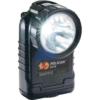 PELICAN 3715 LEDフラッシュライト 黒(1個) 3715LEDBK 4320689