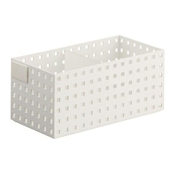 吉川国工業所:ブリックス (仕切り板・名札付き 280ミドルL)ホワイト S9015WH